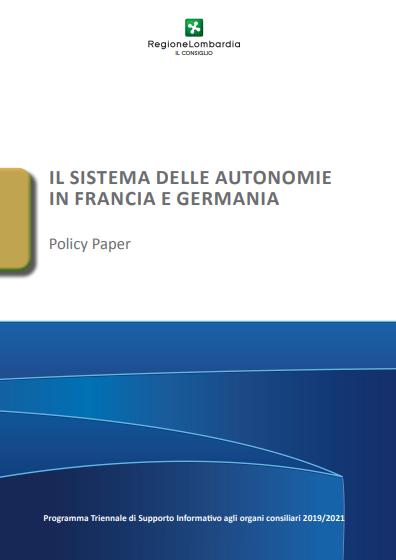 Il sistema delle autonomie in Francia e Germania